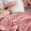 объём экспортируемой из США свинины